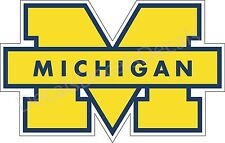 Michigan Wolverines UM Decal/Sticker for Car Truck Choose Color!! Free Shipping