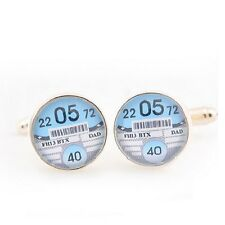 Personalised Tax Disc Cufflinks (FREE P&P)