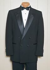 Christian Dior - Black Double Breasted Tuxedo Coat Dinner Jacket - All Sizes
