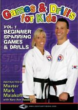 Games And Drills For Kids DVD Martial Arts Training Instructional Fun Childrens