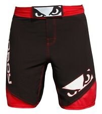 Bad Boy MMA Black/Red Legacy 2 Fight Shorts Mix Martial Arts Grappling