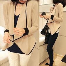 Women Loose Bolero Irregular Casual Cardigan Coat Jacket Suits Blazer Shrug Tops