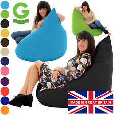 Adult Size Gamer Beanbag Chair Giant Gaming Bean Bag Highback Bags Seat Gilda