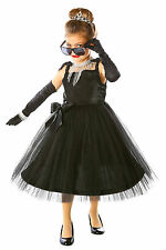 Movie Star-Audrey Hepurn-Girls Chids Deluxe Costume-Princess Paradise- XS, S, M,