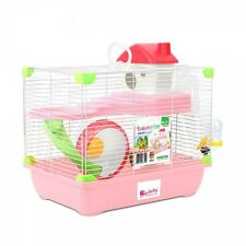 Alex  Large hamster rodent cage playhouse two colors