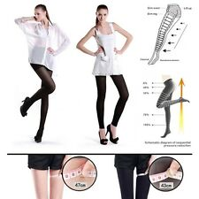 Women Lady Slim Tights 300D Compression Shape Stockings Pantyhose Footless