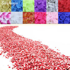 100x Silk Rose Petals Wedding Party Engagement Table Confetti Flower Decoration