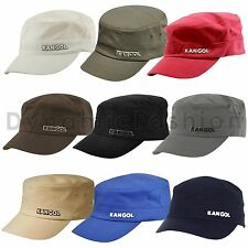 Authentic Mens KANGOL Army 9720BC Flexfit Cotton Twill Cap Hat S/M L/XL XXL