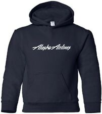 Alaska Airlines Retro Logo US Airline HOODY
