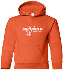 Air North Vintage Logo Canadian Airline HOODY