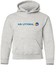 Air Littoral Retro Logo French Airline HOODY