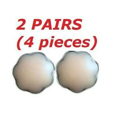 Womens Silicone Nipple Reusable Cover Patch Pad - 2 PAIRS of PETAL Covers