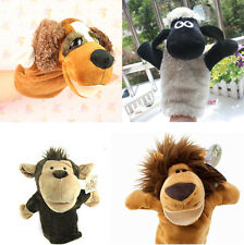 Lovely Hand Glove Animal Puppets Children Kids Baby Learn Story Plush Toy Gift