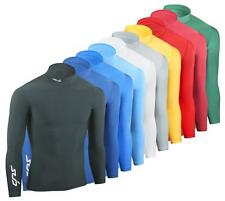 SUB COLD Kids Compression Top, L/S Thermal Mock Neck Baselayer - sports shirt