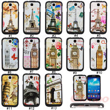 New Hybrid Building Hard Silicone  Case Cover Skin For Samsung Galaxy S4 i9500