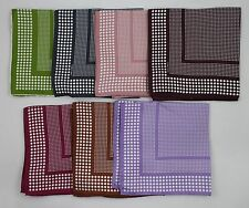 NWT Tom Ford Silk Pocket Square Dotted Stripes