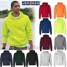 NEW JERZEES NuBlend SUPER SWEATS Hooded Sweatshirt Pullover Hoodie 4997MR-4997