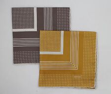 NWT Tom Ford Silk Pocket Square Dots And Stripes