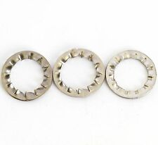 M2 - M12 A2 STAINLESS STEEL INTERNAL SERRATED SHAKEPROOF WASHERS LOCK WASHER