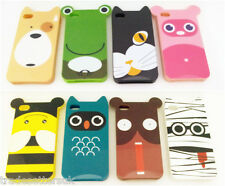 IPHONE 5, 5S, SENTIMENTAL CIRCUS CARTOON CHARACTER SILICON SOFT PROTECTIVE CASE