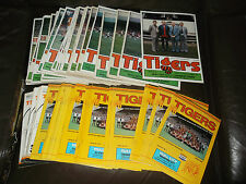 Hull City home programmes 1980/81 - 81/82