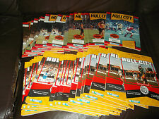 Hull City home programmes 1988/89 - 89/90