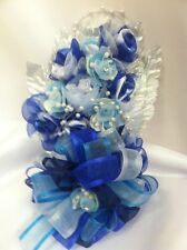 Baby Shower Birthday Blue Corsage Decoration Its a Boy Party Supplies