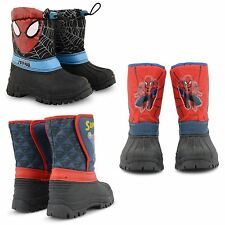 NEW KIDS SNOW WINTER RAIN WATERPROOF MUCKER THERMAL FLAT WATERPROOF BOOTS SIZE