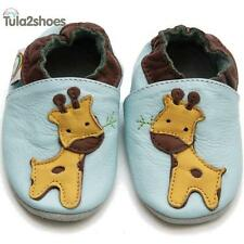 Tula2shoes SOFT LEATHER BABY PRAM/FIRST/TODDLER SHOES GIRAFFE 0- 6- 12- 18- 24 M