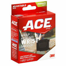 Ace Wrist Wrap Brace Support Adjustable Compression Circulation Muscles Joints