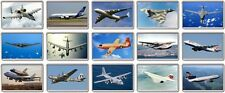 FRIDGE MAGNET - ICONIC AIRCRAFT (Various Designs) - Large Jumbo Plane Airplane
