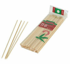"100 x Bamboo Skewers 6"" or 8"" or 10"" or 12"" Appetizer Grill BBQ Shish Kabob"
