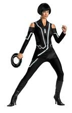 ADULTS WOMENS MOVIE CHARACTERS TRON QUORRA DELUXE FANCY DRESS COSTUME - 3 SIZES