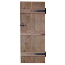 Oak Internal Ledged Solid Door - Cottage Door