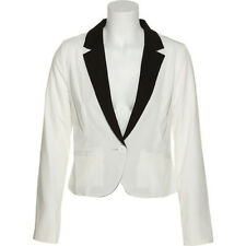 CHORD Two Tone Single Button Blazer