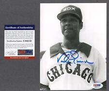 Vada Pinson signed Chicago White Sox photo (rare) Psa/Dna authenticated