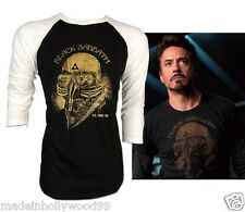 Black Sabbath US TOUR 78 Iron Man Tony Stark Adult Retro VTG Baseball Raglan