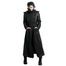 NEW PUNK Rave Gothic Vampire Heavy Metal Jacket Coat Y420 ALL STOCK IN AUSTRALIA