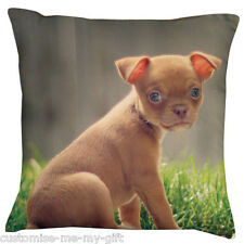 Chihuahua | Chiwawa Cushion -  Add your own text choice | Gift | Cute dog | Pet