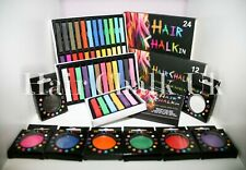 HAIR CHALK UK- 1, 6, 12 & 24 Piece Sets of Hair Chalk, Hair Pastels, Hair Colour