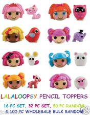 LALALOOPSY PENCIL TOP TOPPERS FIGURINES FIGURES DOLLS PETS 16/32/50/100 OPTION