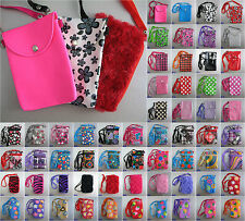 Mobile Phone Bag with Shoulder Strap case cover holder sock pouch skin sleeve