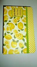 COUPON KEEPER ACCORDION POCKET ORGANIZER NOTE GROCERY LIST PAD PORTFOLIO