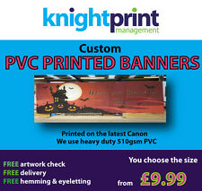 PVC Banners - Vinyl Printed Outdoor Sign - Custom Advertising Sign / Display