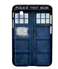 """NEW Tardis Dr. Who Samsung Galaxy Tab 2 7"""" 7 inch P3100 Tablet Hard Case Cover"""