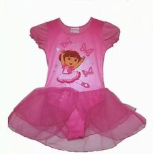 Girls Fairy Party The Explorer Dora Leotard Ballet Tutu Dance Skirt Dress GIFT