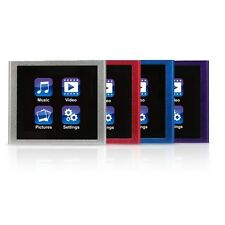 New Mach Speed Eclipse V180 Clip on MP3 Music Video Player 8 GB Multiple Colors
