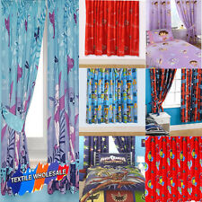 New Kids Official Disney and Tv Character Ready Made Curtains