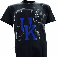 University of Kentucky UK Highlight Black Tee Shirt KY Wildcats Basketball