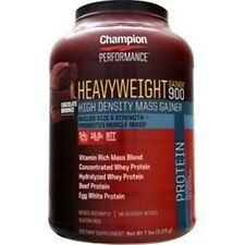 CHAMPION NUTRITION Heavyweight Gainer 900 in 7 lbs better quality save u more